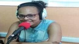 INDHYRA lors de son passage a une émission a radio fm espoir